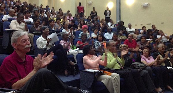 Debate at The University of the West Indies.